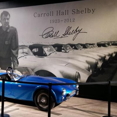 Visite du musée et de l'usine Carroll Shelby