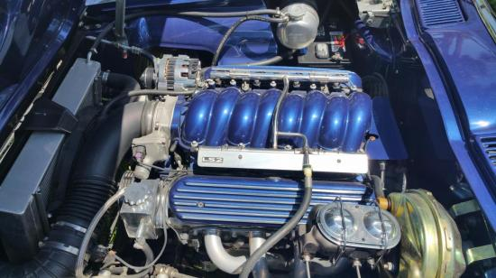 C2 with LS2 engine / manual transmission