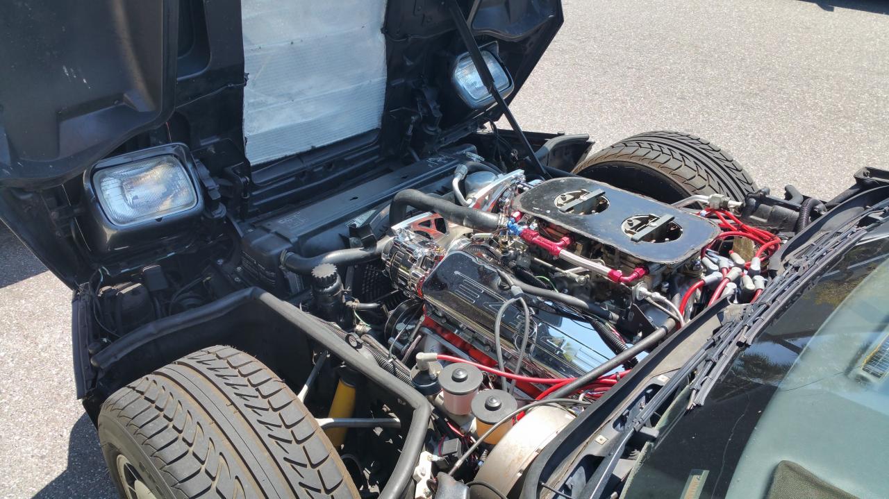 C4 with 454ci engine