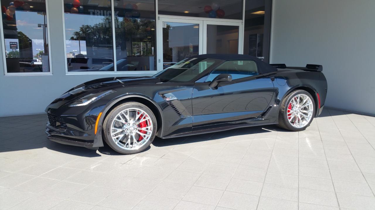 Corvette C7 Z06 convertible