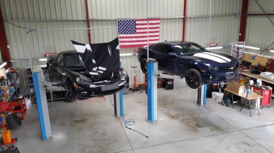 Corvette et Camaro
