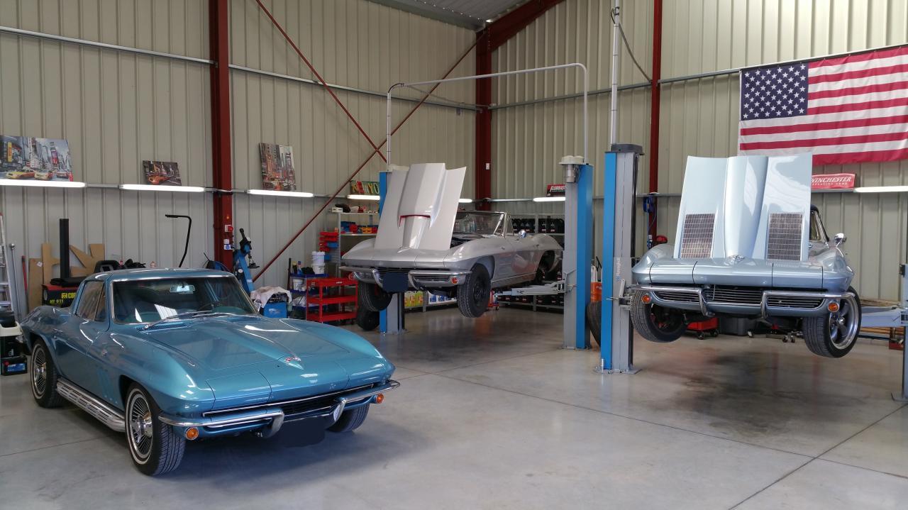 Trio de Corvette C2