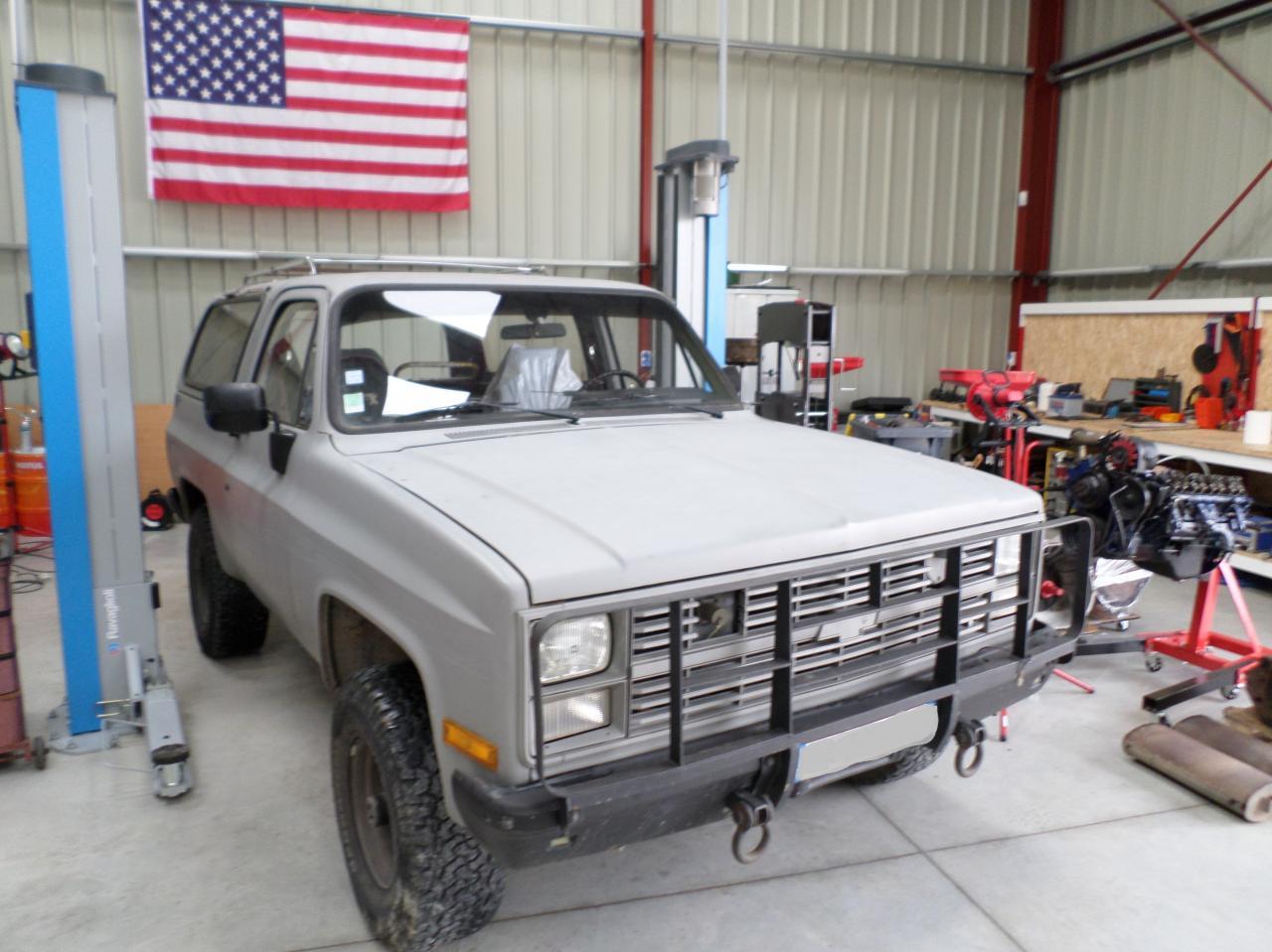 Chevy Blazer 6.2 L Diesel