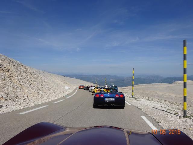 Descente du Mont Ventoux