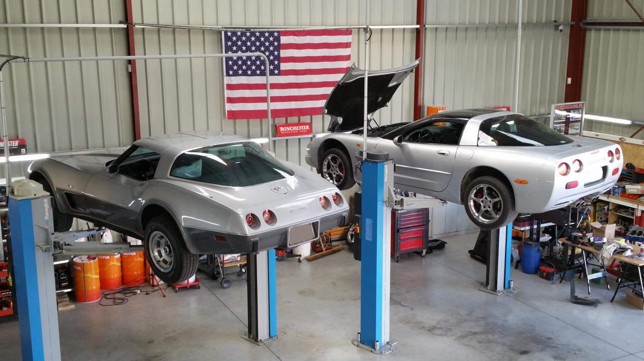 Corvette C3 et C5