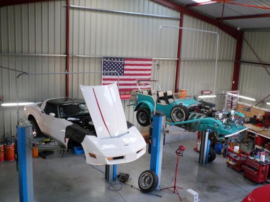 Excalibur et Corvette C3