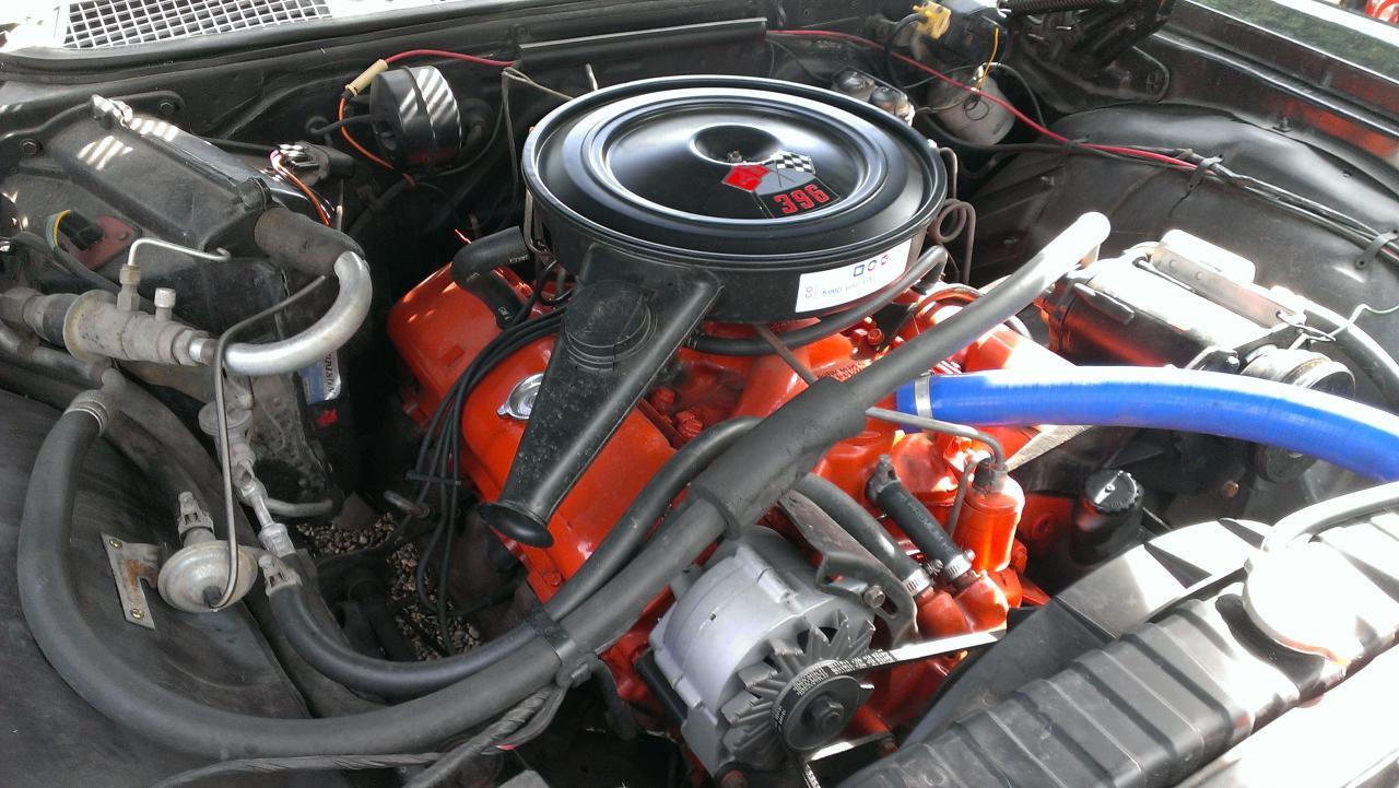 Chevy 396 ci