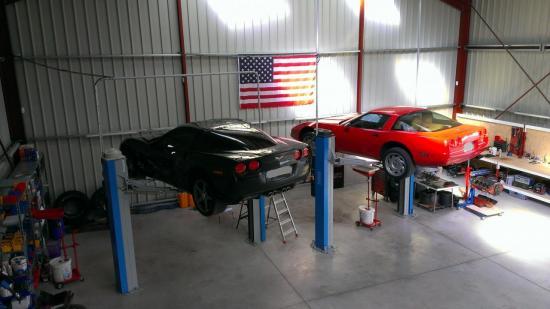 Corvette C6 et C4