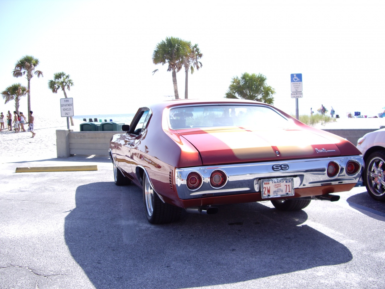 Chevelle SS on the street !!