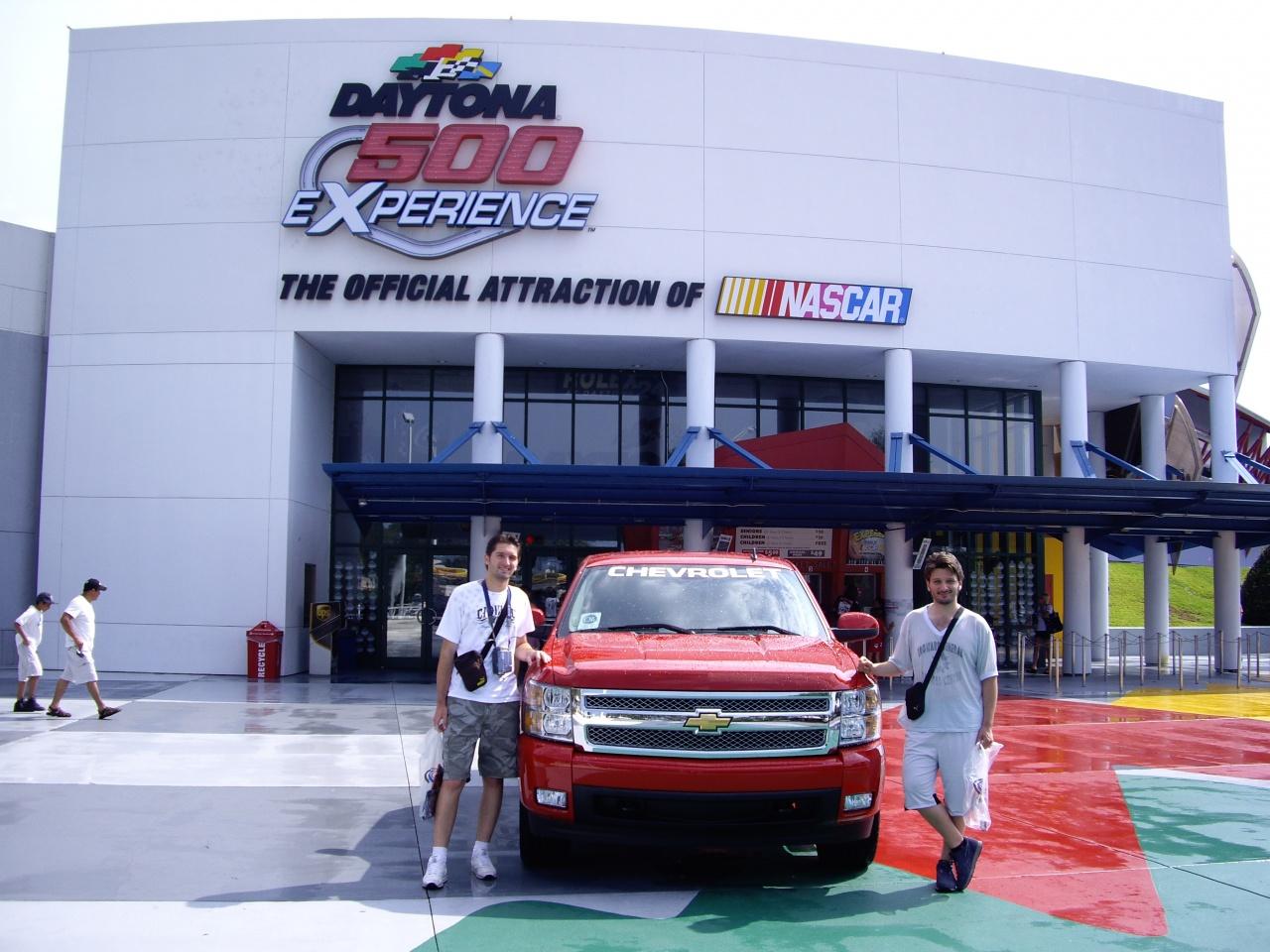 2008 International Speedway Daytona FL, 12 ans plus tard.