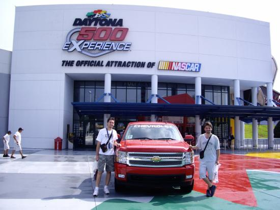 2008 International Speedway Daytona FL, 12 ans plus tard.