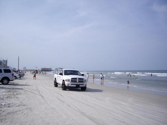 Plage Daytona fl, Speed Limit 10 mph