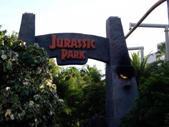 Jurassic Park, Islands of Adventure Orlando fl