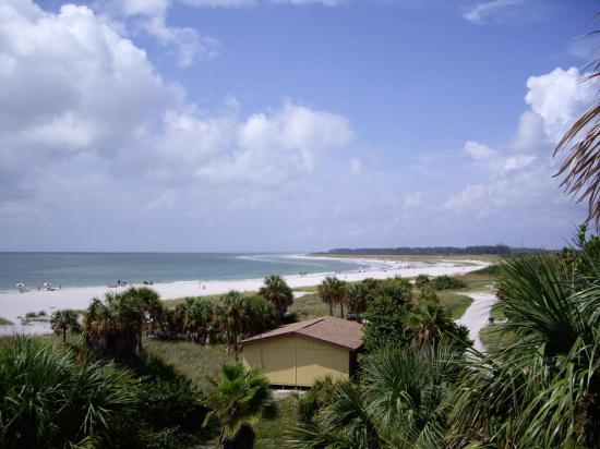 Plage sauvage de Floride