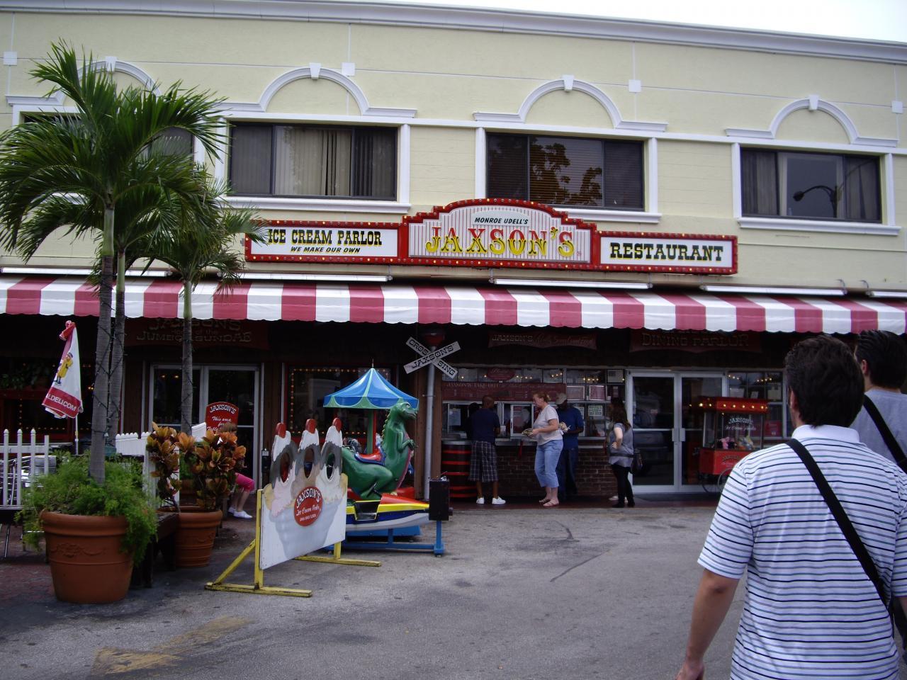 Jaxon's Ice Cream Dania Beach fl