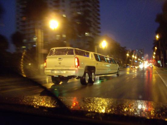 Limousine avec jacuzzi