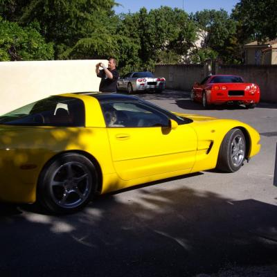 Rassemblement Corvette chez Brunoricaine