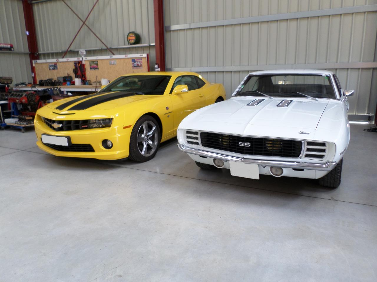 Choc des générations, Camaro 1969 et 2011