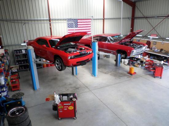 Challenger et Impala 67