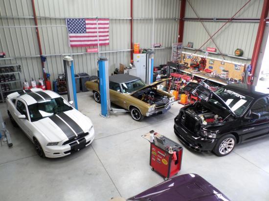 Ram SRT10 Mustang 5.0 Chevelle SS