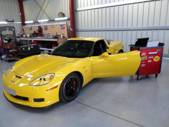 Reprogrammation Chevrolet Corvette Z06 2008