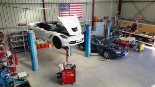 Corvette C7 et Camaro 98